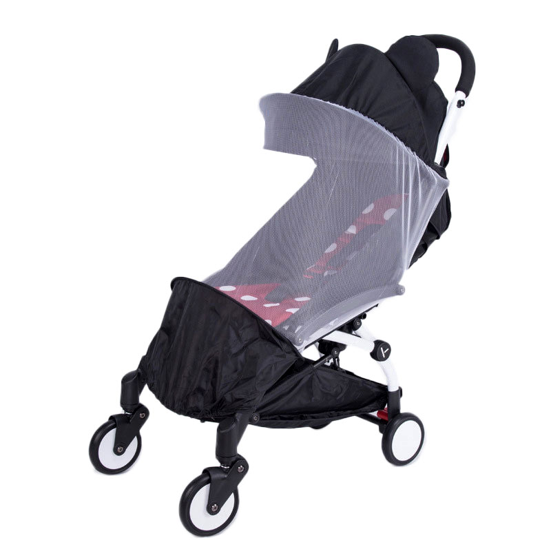 Baby Stroller Accessories Mosquito Net Insect Shield Net For Babyzen Yoyo+ Yoya Baby Throne Babytime Stroller Mesh For Stroller