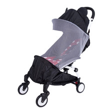 лучшая цена Baby Stroller Accessories Mosquito Net Insect Shield Net For Babyzen Yoyo+ Yoya Baby Throne Babytime Stroller Mesh For Stroller