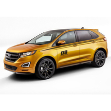 World Datong car styling sport sticker For Ford Edge body stickers and decals auto