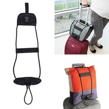 2PCS Bag Bungee Add A Bag Strap Luggage Suitcase Adjustable Belt Carry On Bungee Travel Storage Bag Wholesale NRQ28