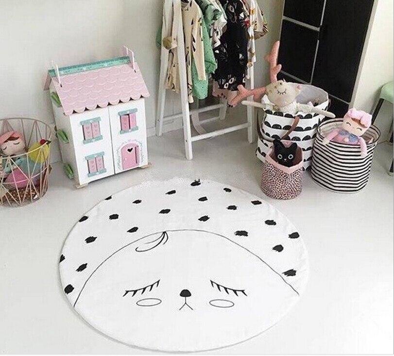 2016 New Baby Crawling Blanket Cotton Kids Room Floor