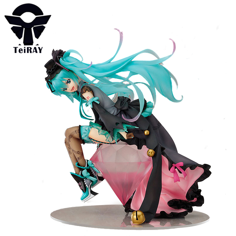 Japan Anime Vocaloid figurines Figma Hatsune Miku 1/7 Risa Ebata pvc action figures toy doll Brinquedos juguetes kids gift 8 hot anime vocaloid hatsune miku action figures pvc brinquedos collection figures toys kids birthday christmas gift free shipping