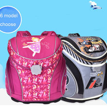 Original MagTaller new School Bags school Backpacks Children Orthopedic Backpack Book bag for boys and Girls mochila infantil(China)
