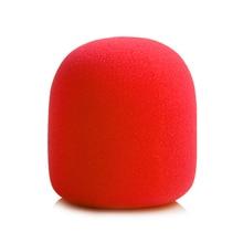 Красочные ветрового стекла микрофон лобовое стекло рекордер ручка губка мяч Тип крышка пены фильтр для ZOOM H1 H 1 рекордер Mic