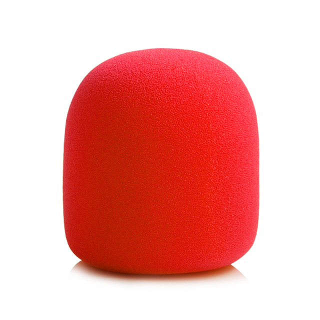 Colors Windscreen Microphone Windshield Recorder Pen Sponge Ball Type Cover Foam Filter For ZOOM H1 H 1 Recorder Mic 60%off