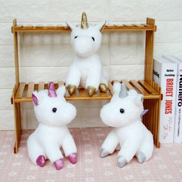 20cm Pink Pegasus The Unicorn Hight Quality Toys Plush Stuffed Animals Collection Children's Gifts Animals Birthday Christmas