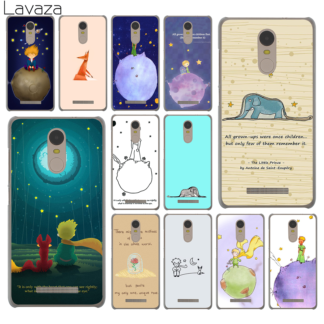 Lavaza Lovely the Little Prince fox On Mint Case for Xiaomi Redmi 4A Mi 8 SE 6 A1 5X 5S Plus MiA1 Note 5 Pro 4 4X 5A Prime Mi8 ...