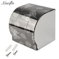 Новый современный черная бабочка поверхности картины Ванная комната туалетной Бумага держатель Бумага настенная коробка для хранения