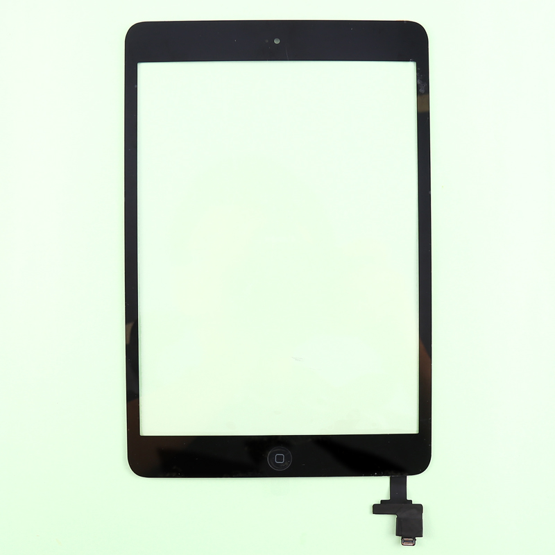 10pcs/lot by DHL EMS for iPad Mini1&2 digitizer assembly touch screen with IC and home buttom+3M sticker completed Free shipping карандаш для губ make up factory make up factory ma120lwmqv72