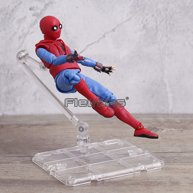 Spiderman S.H.Figuarts Spider-Man Homecoming PVC Action Figure Toy Movable Model Doll