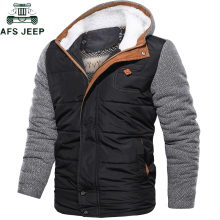 Брендовые парки, зимняя мужская куртка, европейский размер, M-3XL, повседневная, тонкая, хлопок, толстая, мужская куртка, парки с капюшоном, теплая, Casaco Masculino