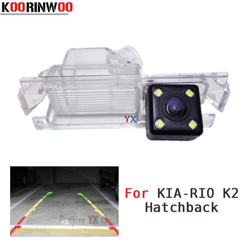 Автомобильная камера заднего вида KOORINWOO CCD HD, для Kia/Rio 2, хэтчбек 2012, для Hyundai Hatchback, 13/14, парковочная помощь