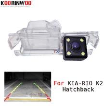 Koorinwoo CCD HD специальный автомобиль камера заднего вида для Kia/Rio 2 хэтчбек 2012 для hyundai хэтчбек 12 13 14 Парковочные системы