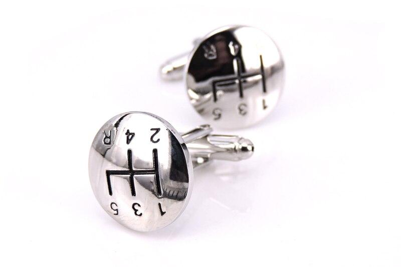 C-MAN Jewellery Luxury brand cufflink High quality Steel material shirts Gear cufflinks for men Wholesale or retail