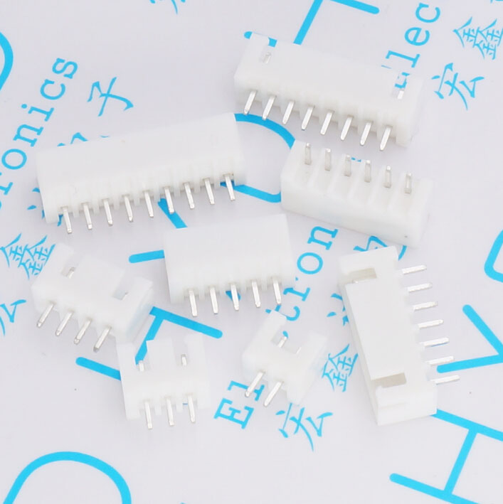 XH2.54mm connector straight pin XH-2P/3P/4P/5P/6P/7P/8P/9P/10P/11P/12P Socket Terminals connector for PCB 29um68 p