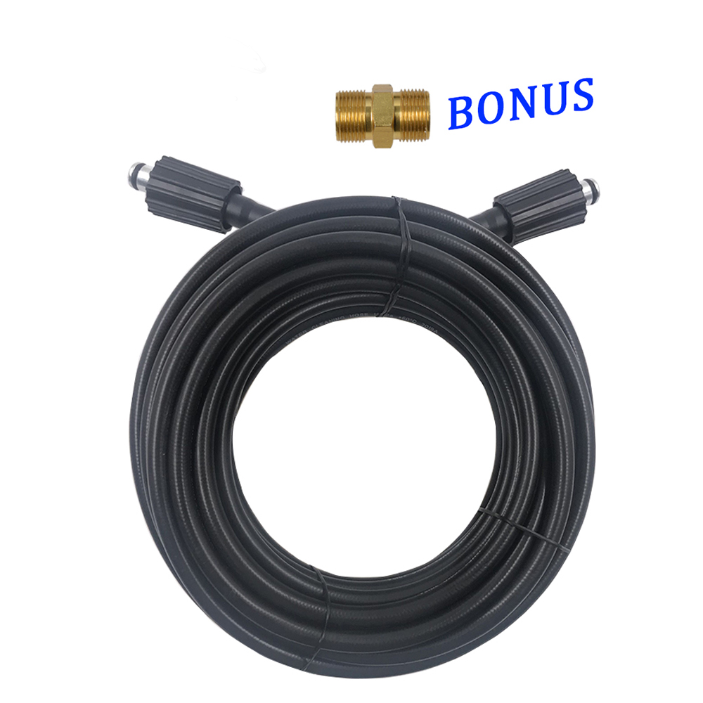 Hose Cord Pipe CarWash Hose Water Cleaning Extension Hose M22 pin 14/15 for Karcher Elitech Interskol Huter High Pressure Washer-in Water Gun & Snow Foam Lance from Automobiles & Motorcycles
