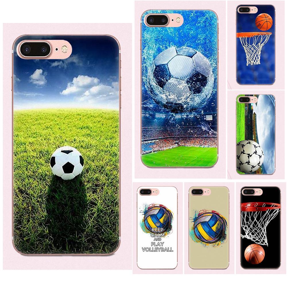 Soccer Ball Basketball Volleyball For Samsung Galaxy A3 A5 A7 J1 J2 J3 J5 J7 2015 2016 2017 Accessories Phone Shell Covers Cellphones & Telecommunications