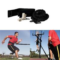 Adjustable Resistance Pull Rope Footwork Technique Running Basketball Training Speed Pull Rope Fitness Equipment Resistance Band