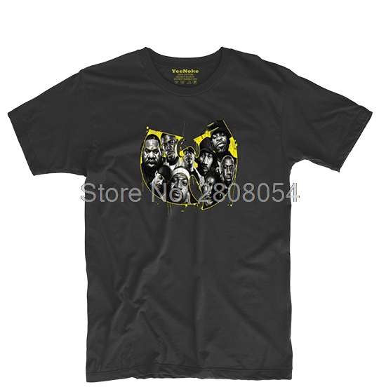 Wu Tang Clan Hip Hop Music Mens & Womens Games Tee Custom T shirt