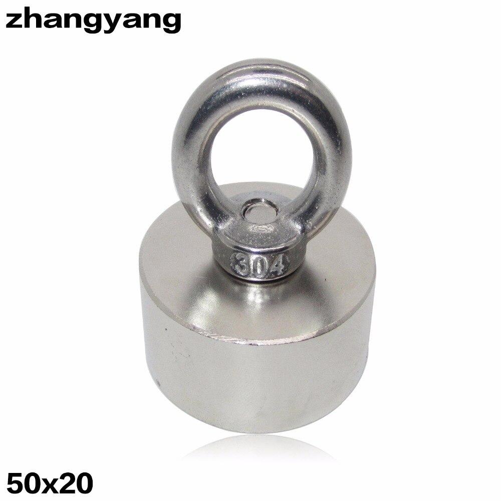 ZHANGYANG 1 pz Super Potente Forte Rare Earth Disc tenere magnete Al Neodimio N52 Magneti D50x20mm 50*20mm