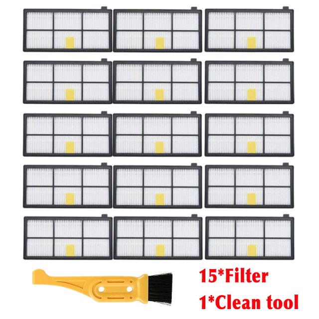 Hepa Filter Replacement for iRobot Roomba 800 900 Series 800 805 850 860 870 880 890 960 980 Vacuum Cleaner filter clean tools