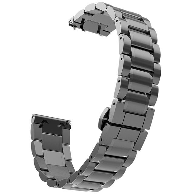 Kimisohand qualidade de aço inoxidável watch band strap fecho metálico para samsung galaxy gear s2 classic sm-r732 bens de super