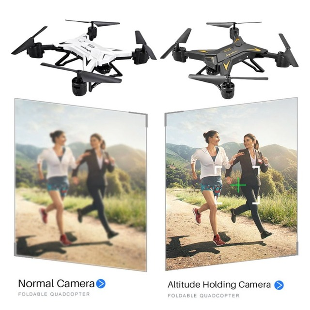 Foldable Arm Remote Control Quadcopter Camera Drone Aircraft With 0.3MP or Full HD 1080P