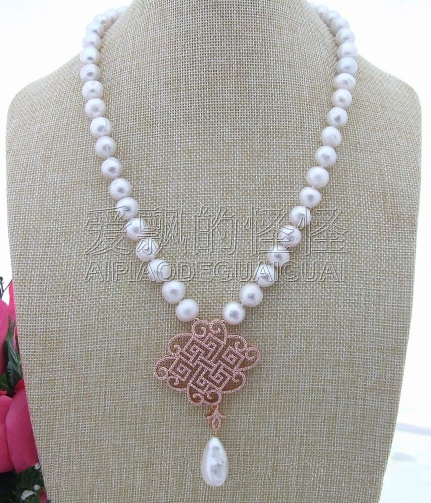 N030602 22 11MM Keshi Pearl NecklaceN030602 22 11MM Keshi Pearl Necklace