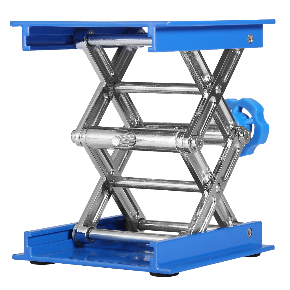 100*100mm Aluminium Oxide Lab-Lift Lifting Platforms Stand Woodworking Engraving Lab Rack