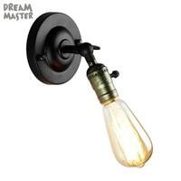 Vintage Mini Wand licht mit on off schalter Industrielle Licht Retro Lampe Einstellbar Wandlampen für Kaffee Bar Lichter Beleuchtung Leuchte