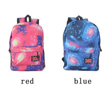 Unisex Canvas Teenager School Bag Book Campus Travel Backpack Star Sky Printed Backpack campus backpack