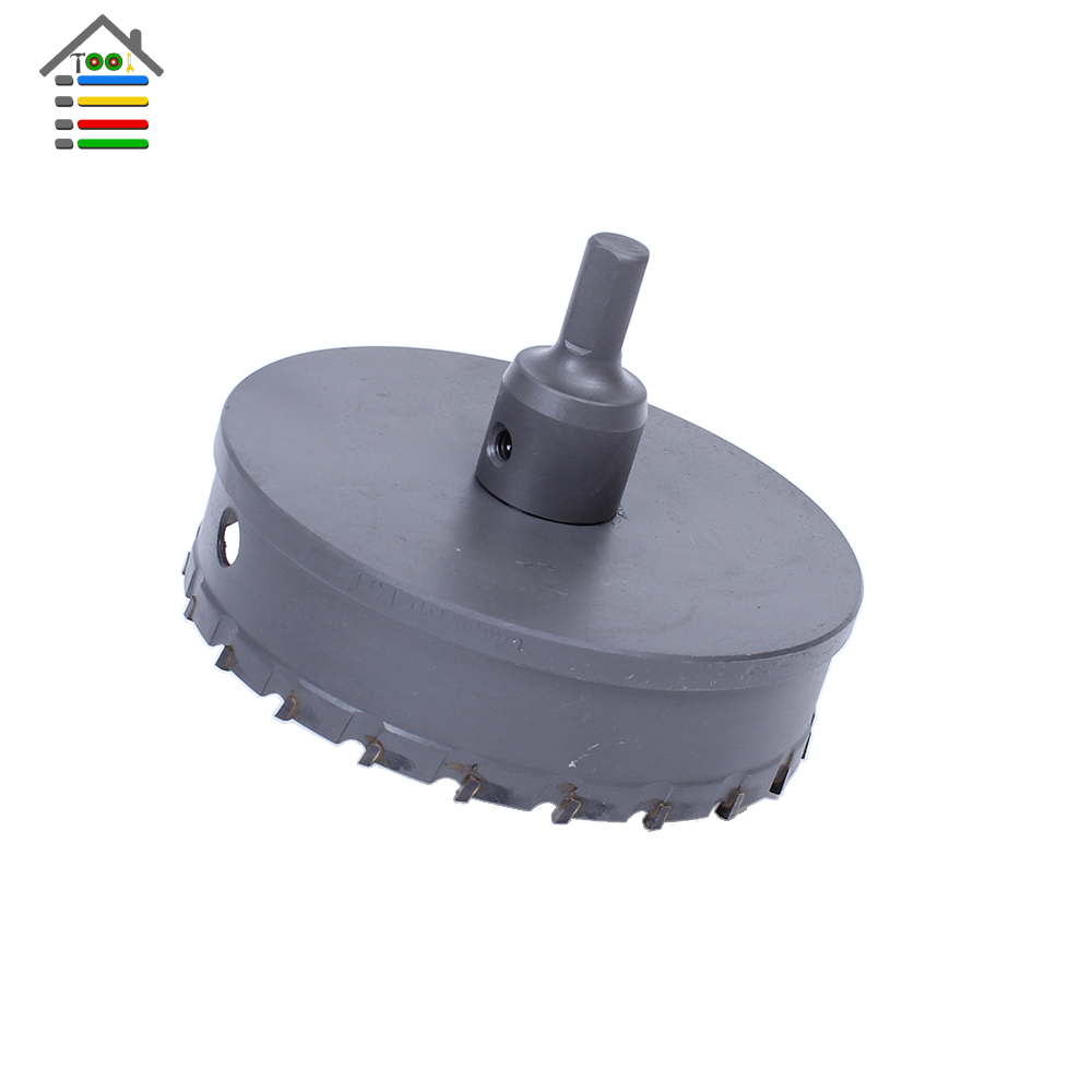 High Quality 120mm Stainless Steel TCT Drill Bit Carbide Tip fit Hole Saw Set for Metal Alloy Drilling Core Cutter Big Size high quality 120mm stainless steel tct drill bit carbide tip fit hole saw set for metal alloy drilling core cutter big size