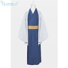 Gintama Katsura Kotarou Kimono Cosplayเครื่องแต่งกายที่สมบูรณ์แบบ!