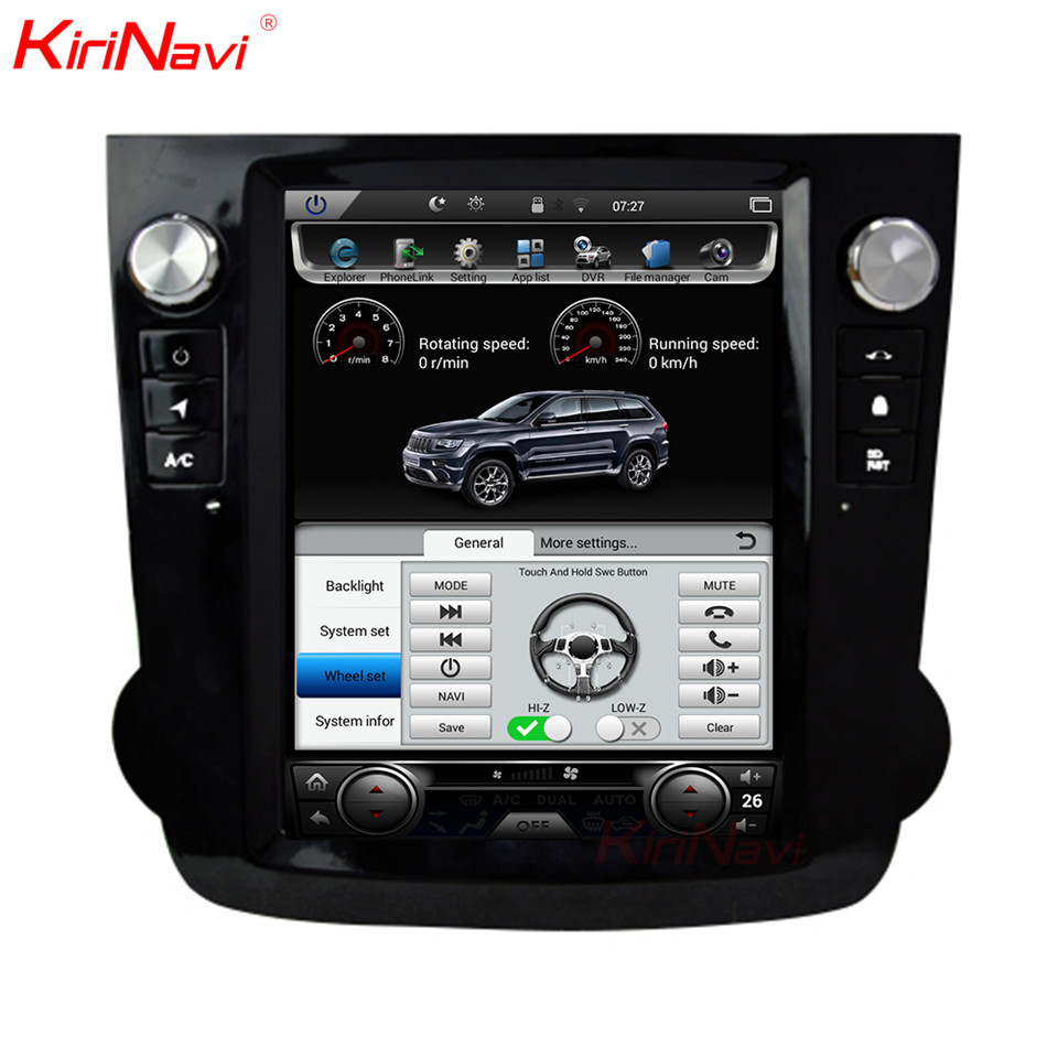 KiriNavi 10.4 Touch Screen For Honda Crv Android 6.0 2 Din Car MP5 Radio Audio GPS Navigation Monitor Multimedia PlayKiriNavi 10.4 Touch Screen For Honda Crv Android 6.0 2 Din Car MP5 Radio Audio GPS Navigation Monitor Multimedia Play