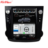 KiriNavi Vertical Screen Tesla Style 10.4 Inch Touch Screen Car Radio For Honda Crv 2 Din Gps Dvd Andriod Navigation System