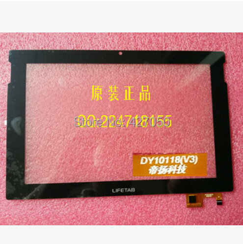 New For 10.1 inch 3G Tablet LIFETAB DY10118(V3) touch screen digitizer panel Sensor Glass Replacement Free Shipping 7 for dexp ursus s170 tablet touch screen digitizer glass sensor panel replacement free shipping black w