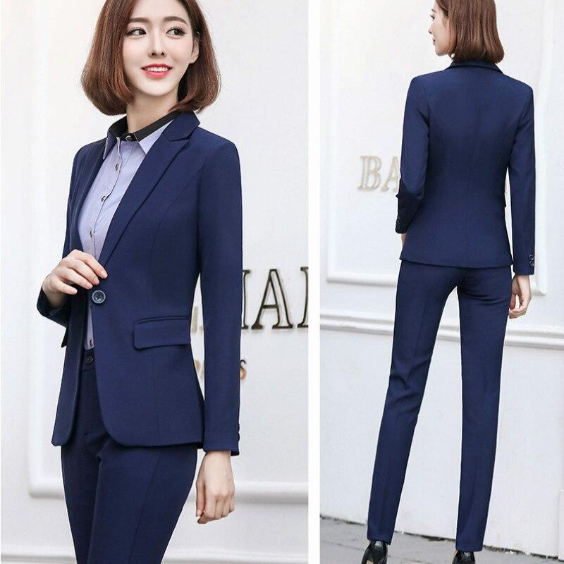 plus size autumn Business wear suits female new fashion temperament suit tooling ladies suit interview dress uniforms women 5XL