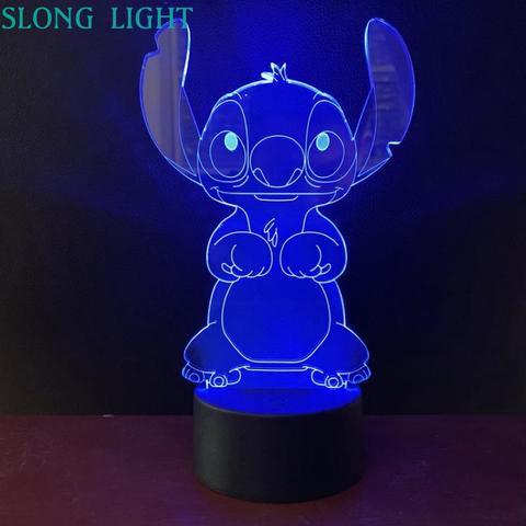 Luzes Noturnas Pelucia Ponto Dos Desenhos Animados Luz Da Noite Levou