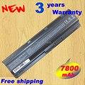 7800 мАч аккумулятор для HP Pavilion DV3 DM4 DV5 DV6 DV7 G4 G6 G7 635 для Compaq Presario CQ56 G42 G62 G72 MU06 593553 - 001 593554 - 001