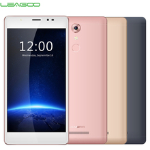 Ursprüngliche Leagoo T1 Plus 4G LTE Handy 3 GB RAM 16 GB ROM MT6737 Quad Core 5,5 Zoll Kamera 13.0MP Android 6.0 Smartphone