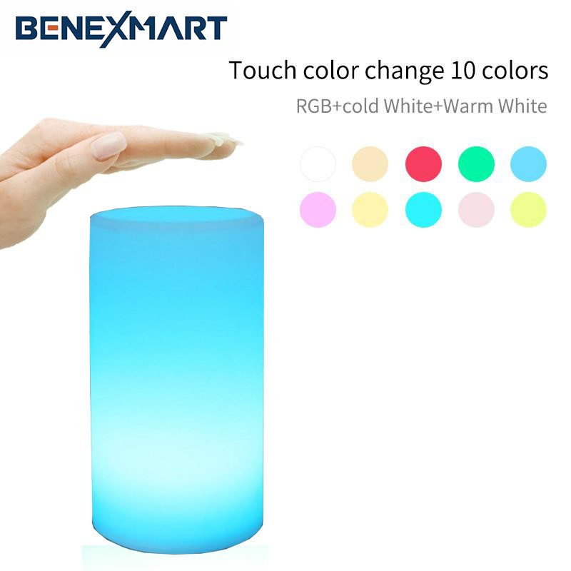 BeneXmart lampe intelligente colorée enfants lampe lumière ambiante Support App/Alexa Echo/Google accueil Assistant commande vocale