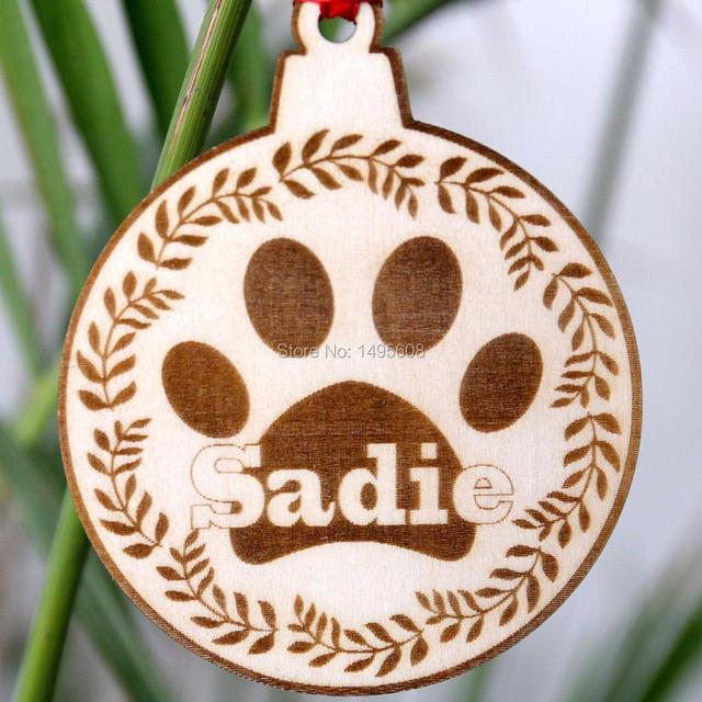 personalized dog christmas ornament dog lover gift personalized pet ornaments pet christmas ornaments