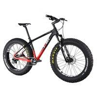 Профессиональный углерода жира велосипед должен 2017 26ER жира велосипед 100 мм спереди путешествия Fat bastard Pro углерода жира велосипед