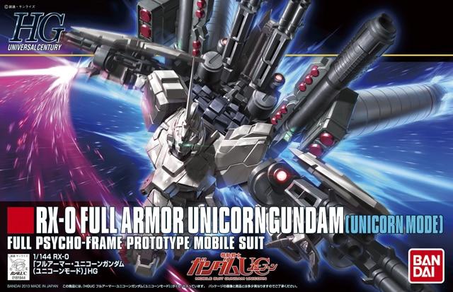 1PCS Bandai HG HGUC 156 RX-0 Full Armor Unicorn Gundam [Unicorn Mode] Mobile Suit Assembly Model Kits Anime action figure Gunpla ohs bandai mg 179 1 100 sengoku astray gundam mobile suit assembly model kits