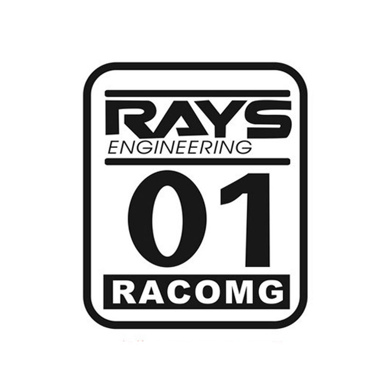 2925cm rays engineering 01 racomg digital racing car stickers car styling modification decorative stickers 1 car decals ct 495 in car stickers from