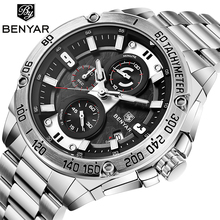 NEUE männer Uhren BENYAR Top Luxus Marke Quarzuhr Männer Military Automatische Datum Wasserdicht Chronograph Relogio Masculino