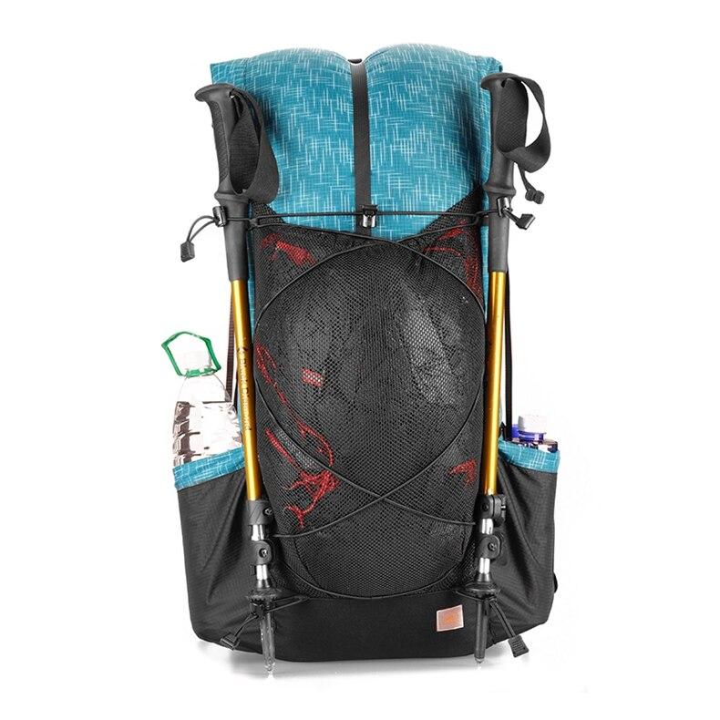 3F UL equipo resistente al agua senderismo mochila ligero Camping Pack viaje montañismo mochila senderismo mochilas 40 + 16L - 5