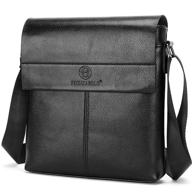 FEIDIKABOLO New Collection Fashion Men Bags Male Leather Messenger Bags Man  Travel Business Crossbody Shoulder Bag 8fd208f8e4