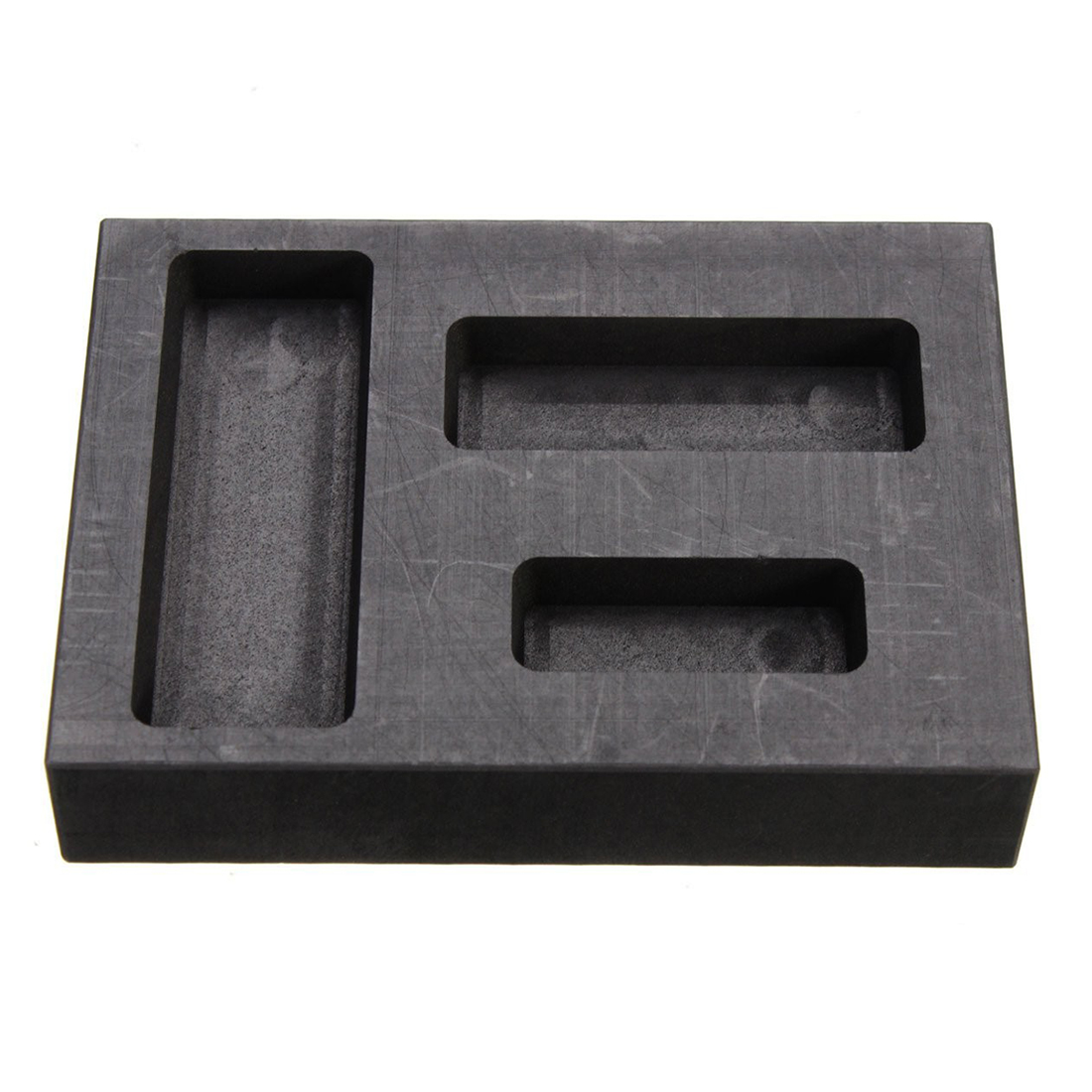 Silber Graphit Barren Bar Combo Form Schmelzen Casting Raffination Schrott