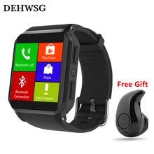 DEHWSG KW06 smartwatch android 5.1 MTK6580 Quad Core 3G WiFi GPS Monitor de Freqüência Cardíaca relógio IP68 À Prova D' Água PK KW88 amazfit bip